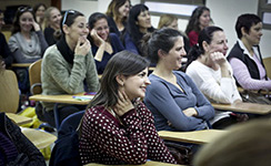 הרצאה- חינוך, מגדר ומנהיגות לגננות רמת גן 13