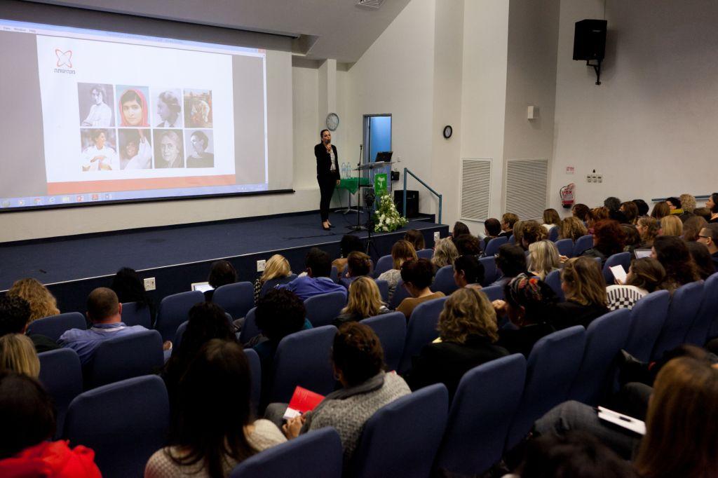 הרצאה לצוותי חינוך בגיל הרך: מנהיגותה בחינוך Gendergarden
